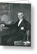 Hans Christian �rsted, Danish Physicist Greeting Card