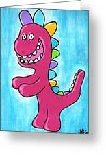 Happosaur Greeting Card