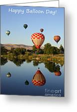 Happy Balloon Day Greeting Card