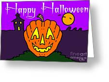 Happy Halloween 2 Greeting Card