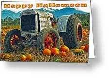 Happy Halloween Card Greeting Card
