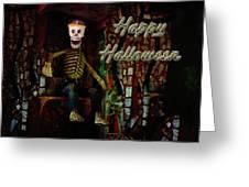Happy Halloween Skeleton Greeting Card Greeting Card
