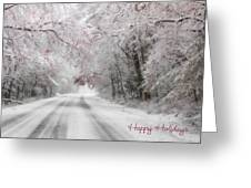 Happy Holidays - Clarks Valley Greeting Card