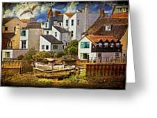 Harbor Houses Greeting Card