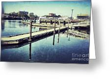 Harbor Time Greeting Card