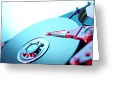 Hard Disc Greeting Card by Tek Image