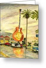 Hard Rock Cafe Las Vegas Greeting Card