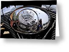 Harley Davidson - Motorcycles Greeting Card