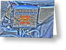 Harley Davidson 2 Greeting Card