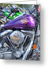 Harley Davidson 3 Greeting Card