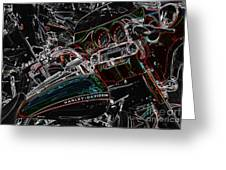 Harley Davidson Style 4 Greeting Card