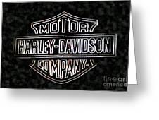 Harley Sign Greeting Card