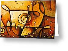 Harmonious Spectrum 2 Greeting Card