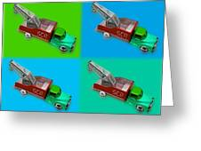 Harmony In Green Greeting Card