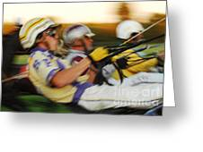 Harness Racing 13 Greeting Card
