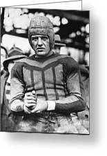 Harold (red) Grange Greeting Card