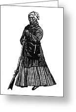 Harriet Tubman (c1823-1913) Greeting Card