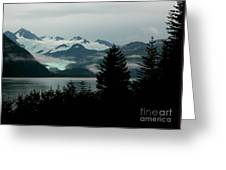 Harriman Glacier Greeting Card