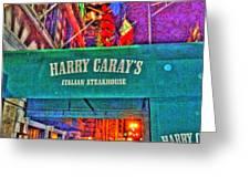 Harry Caray's Greeting Card