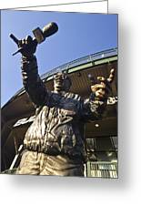 Harry Cary Sculpture Greeting Card by Sven Brogren