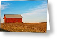 Harvest Is In Greeting Card