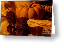 Harvest Reflections Greeting Card