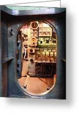 Hatch In Submarine Greeting Card