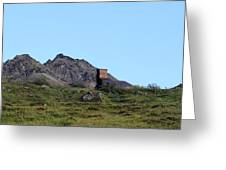 Hatcher Pass Mine Greeting Card