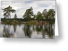 Haukkajarvi Panorama Greeting Card