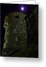 Haunted Tower Greeting Card