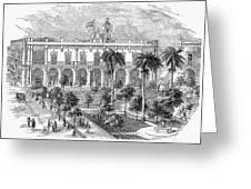 Havana: Plaza De Armas Greeting Card