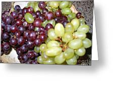 Have Some Grapes Greeting Card