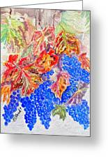 Havest Time Greeting Card by Susan Lee Clark