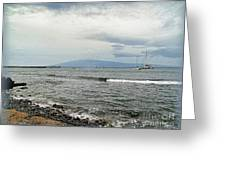 Hawaiian Coastline Greeting Card