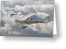 Hawker Demon Greeting Card