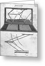 Hawkins Polygraph, 1803 Greeting Card