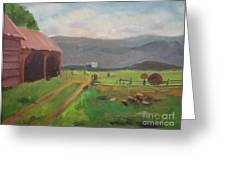 Hay Day Farm Greeting Card