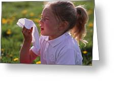Hay Fever Greeting Card