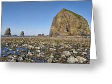 Haystack Rock 2 Greeting Card
