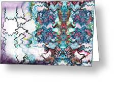Hazed Dreams Greeting Card