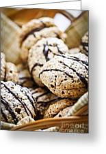 Hazelnut Cookies Greeting Card