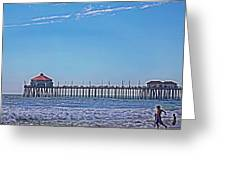 Hb Pier Greeting Card