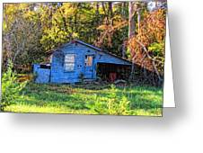 Hdr- Shed Greeting Card