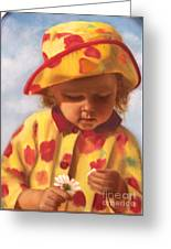 He Loves Me... Greeting Card