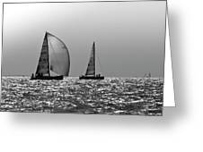 Heading Home Solent Greeting Card