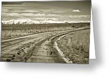 Heading West 2 Greeting Card