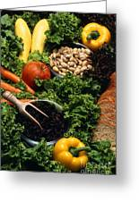 Healthy Foods Greeting Card
