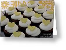 Heart Cupcakes Greeting Card