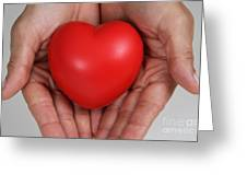 Heart Disease Prevention Greeting Card