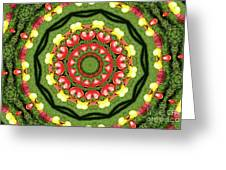 Heart Kaleidoscope Greeting Card